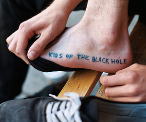 tattoo, kids, and foot image