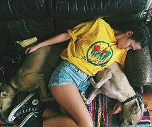maia mitchell, converse, and yellow image