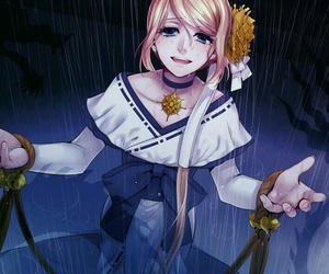 anime, vocaloid, and rin kagamine image