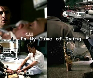 1, supernatural, and in my time of dying image