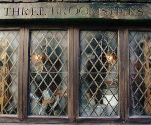 harry potter and three broomsticks image
