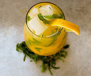 alcohol, cocktail, and lemonade image