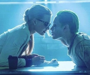 joker, love, and suicide squad image