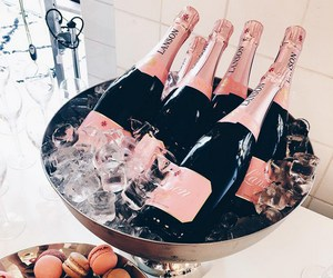 champagne, drink, and fashion image