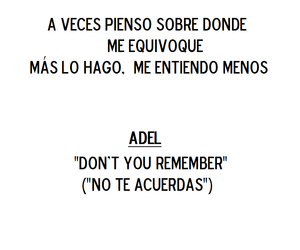 Adele, frases, and frases de canciones image