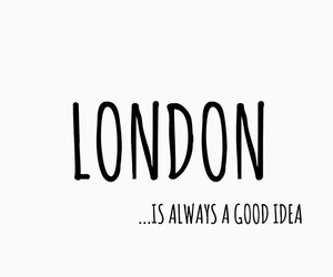 good idea, london, and travel image