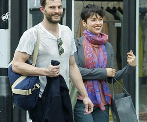 Jamie Dornan and amelia warner image