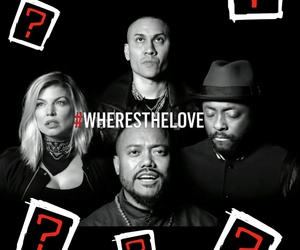 music, fergie, and black eyed peas image