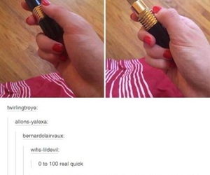 funny, tumblr, and lipstick image