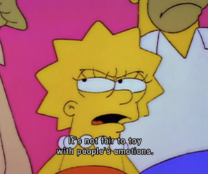 emotions, lisa simpson, and quote image