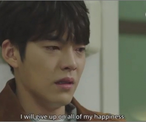 caps, happiness, and Korean Drama image