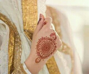 arab, henna, and designs image