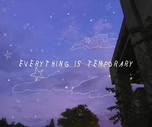 temporary, quotes, and stars image