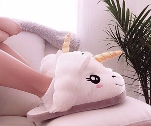 unicorn, cute, and girl image