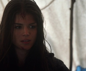marie avgeropoulos, the 100, and octavia blake image