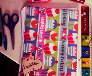 notebook and so girly image