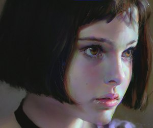 natalie portman, leon, and movie image