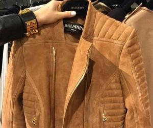 fashion, jacket, and Balmain image