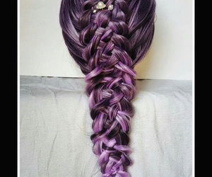 beautiful, braids, and hairstyle image