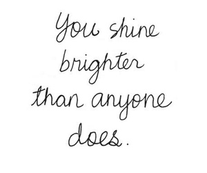 quote, shine, and life image