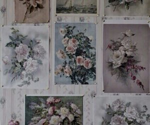 flowers, theme, and art image