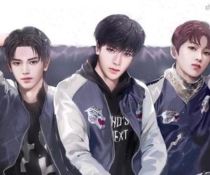 nct, mark, and taeyong image