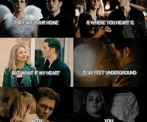 couples, quotes, and The Originals image