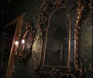 mirror, dark, and theme image