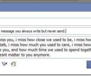 text, message, and facebook image