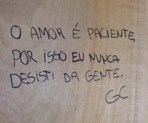 grafite, amor, and paciente image