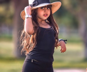 black, hair, and kids image