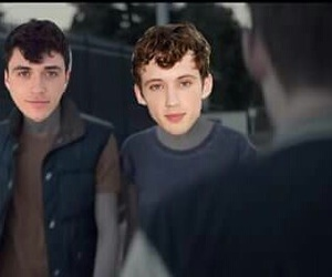 funny, troye sivan, and connor franta image