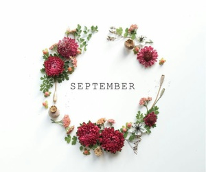 September and flowers image