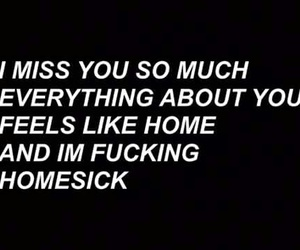homesick, miss, and you image