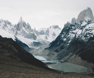 blue, grey, and mountain image
