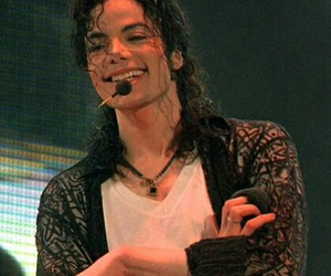 michael jackson, love, and smile image