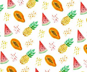 FRUiTS, papaya, and patterns image
