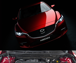 car, vehicle, and mazda 6 image