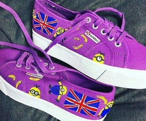 fashion, Great Britain, and trainers image