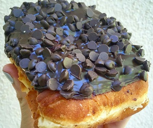 beignets, chocolate, and donuts image