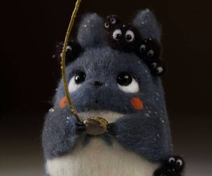 anime, ghibli, and totoro image