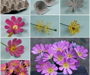 flowers and diy image