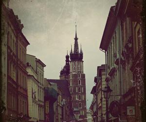 church, cracow, and vintage image