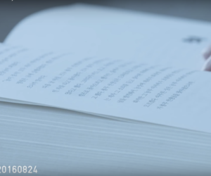book, korean, and read image