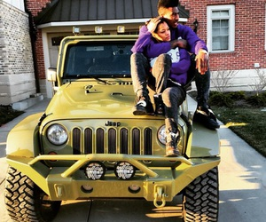 couples, teyana taylor, and jeep image