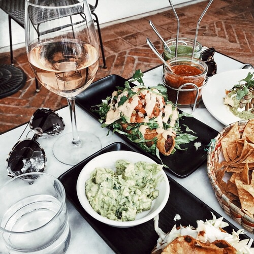 food, drink, and lunch image