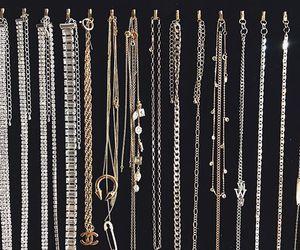 chains, choker, and fashion image