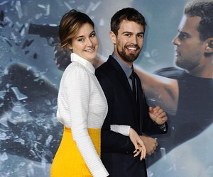 Shailene Woodley, theo james, and berlin image