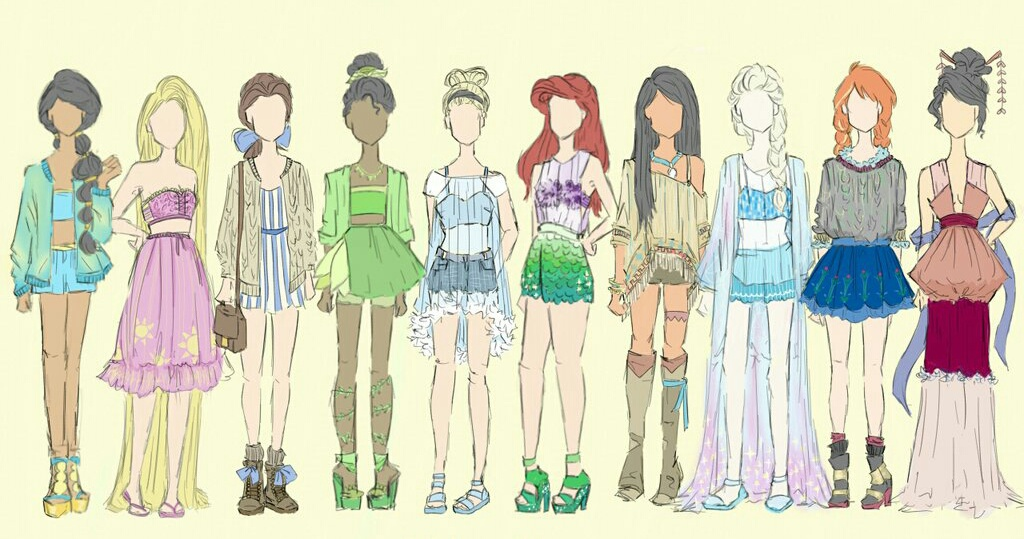 clothes, disney, and draw image