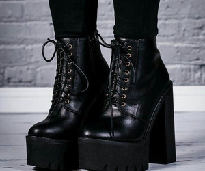 black and boots image